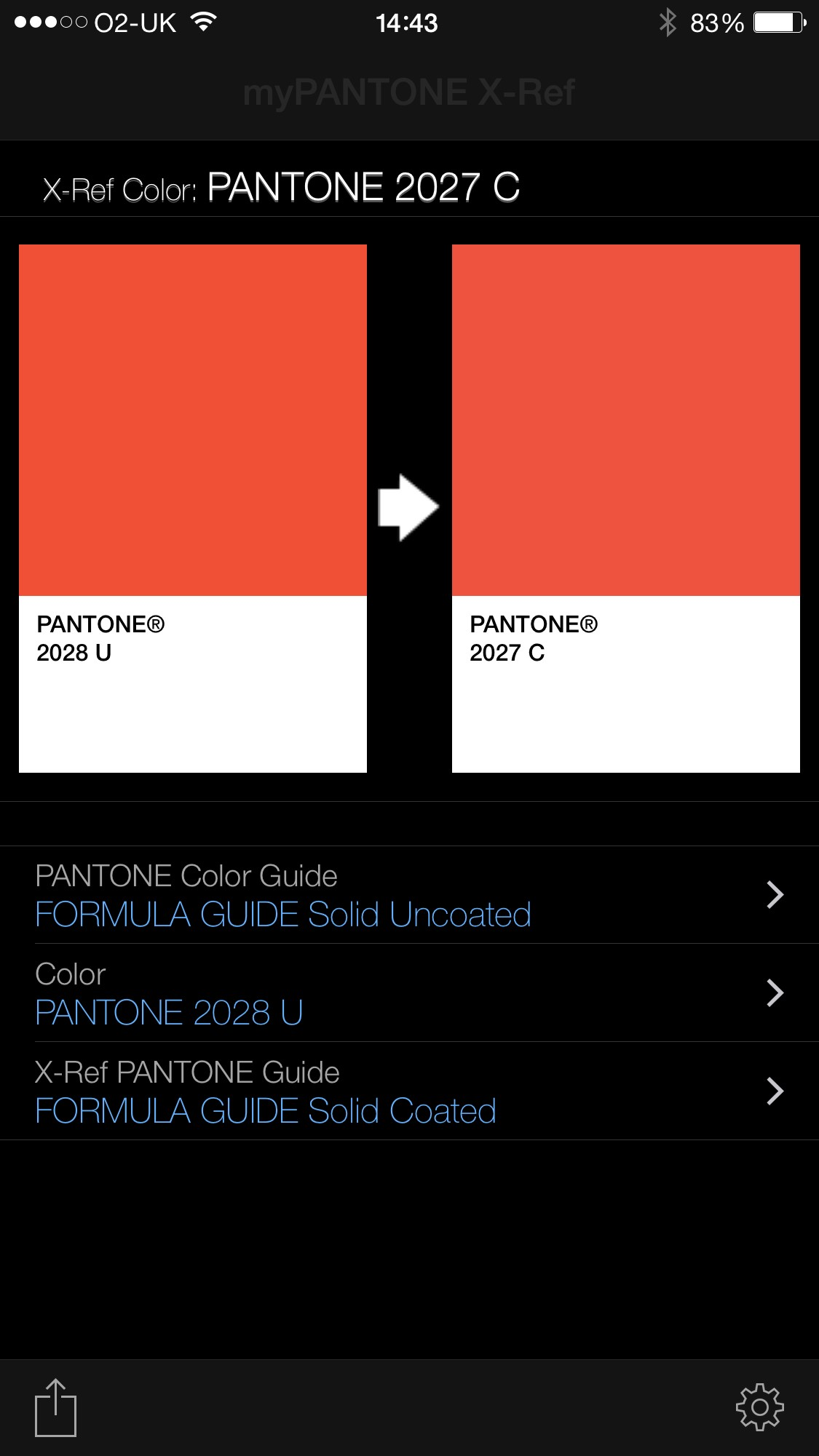Great Tool From Pantone Matching Colour To Pantone References The Umbrella Workshop