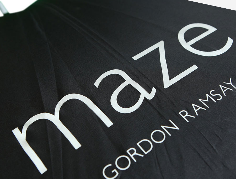 Gordon Ramsay Maze Printed Umbrella