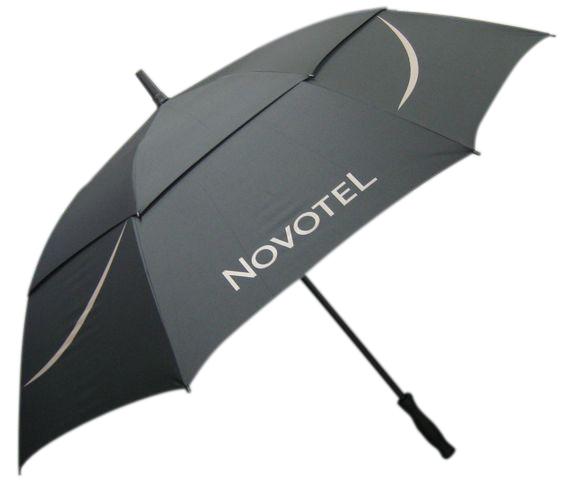 Black Novotel umbrella