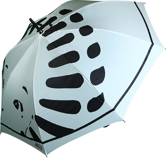 Umbrella with all over print