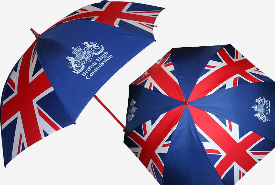 British Flag Umbrellas