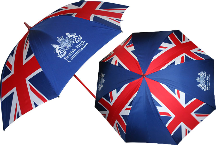 British Flag Umbrellas