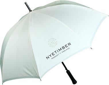 Nye Timber cream umbrella