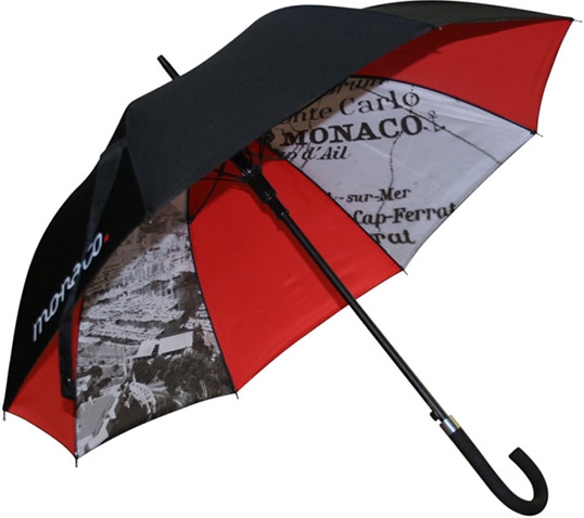 City Umbrella with Internal Print