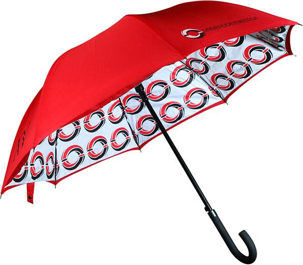 Printed City Walking Umbrellas