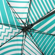 Patterned print on umbrella