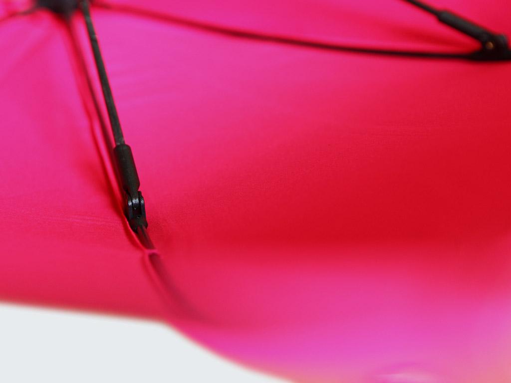 Strong fibre glass ribs on umbrella