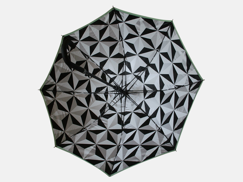 All over internal print on umbrella