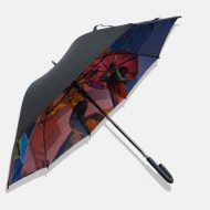Photo print on umbrella