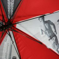 Photo of people on umbrella