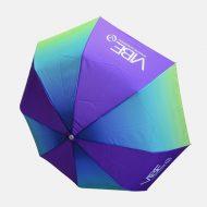 Ombre print on umbrella
