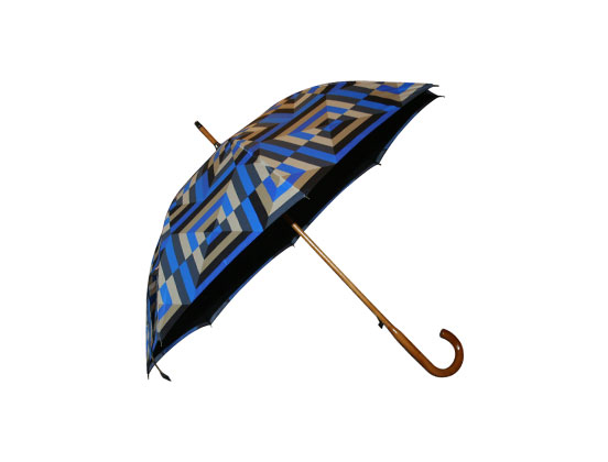 Printed Wood Walking Umbrellas