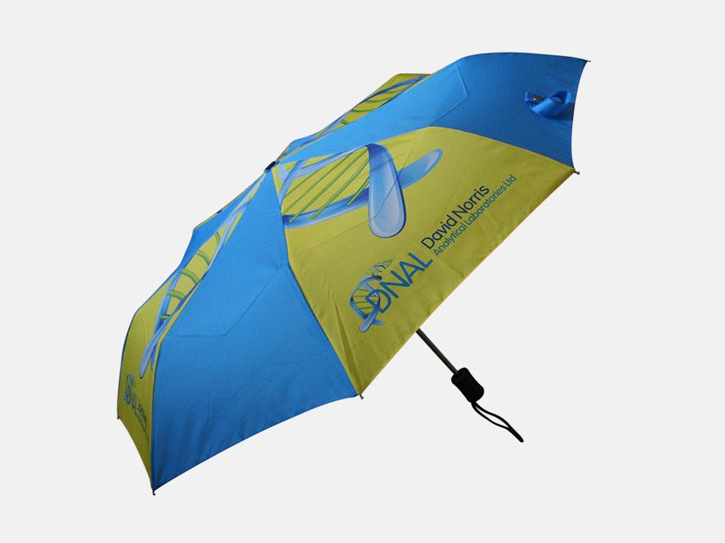 Pantone matched folding umbrella
