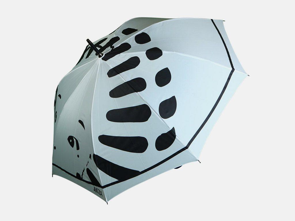 All over print on umbrella