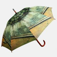 Fine art print on umbrella
