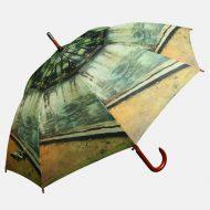 Fine art print on umbrella