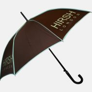 Brown panels on umbrella