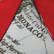 Detailed print on umbrella
