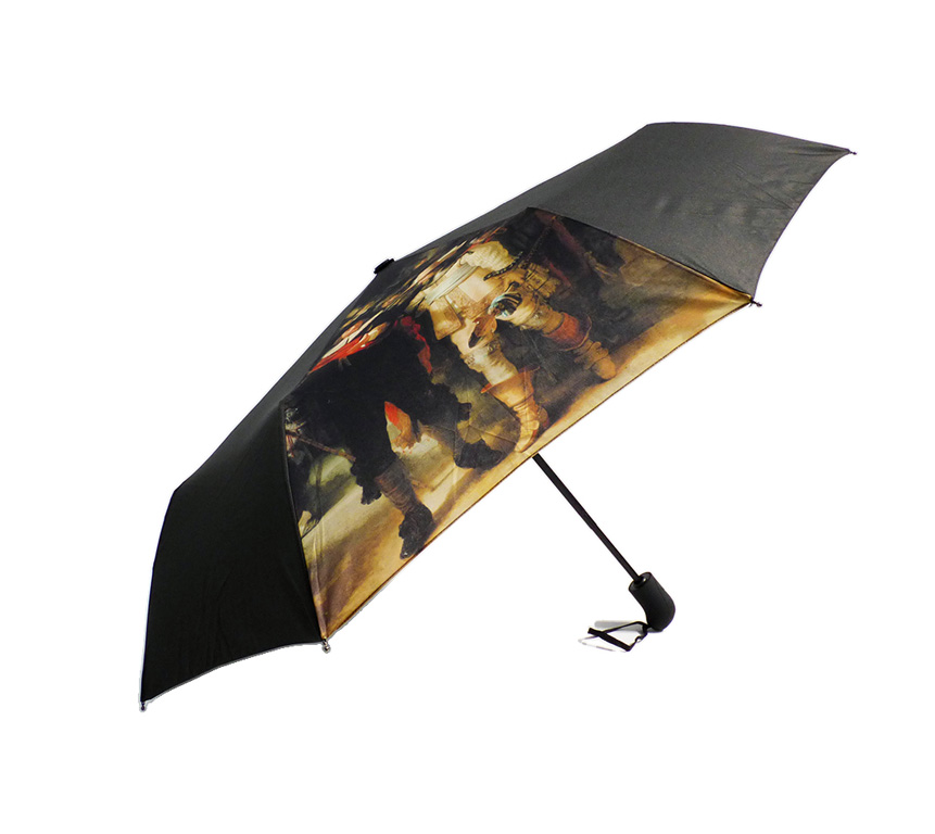 Fine art print on folding umbrella