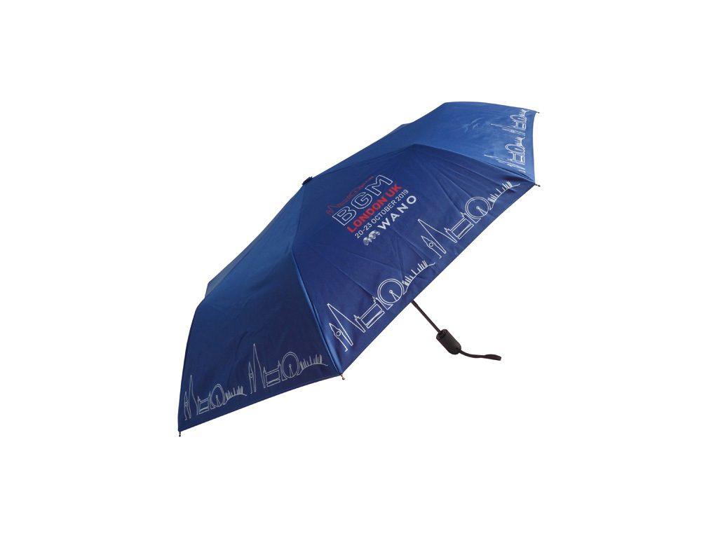London skyline on folding umbrella