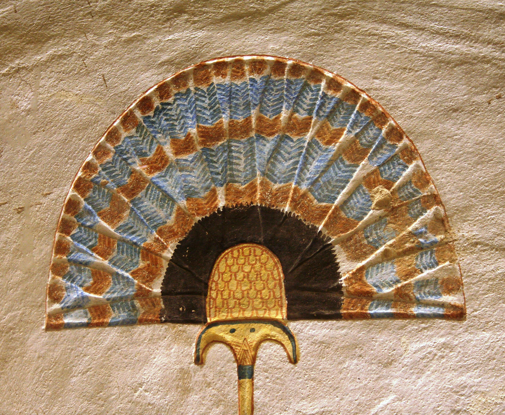 Egyptian sunshade from the Tomb of Khaemwaset