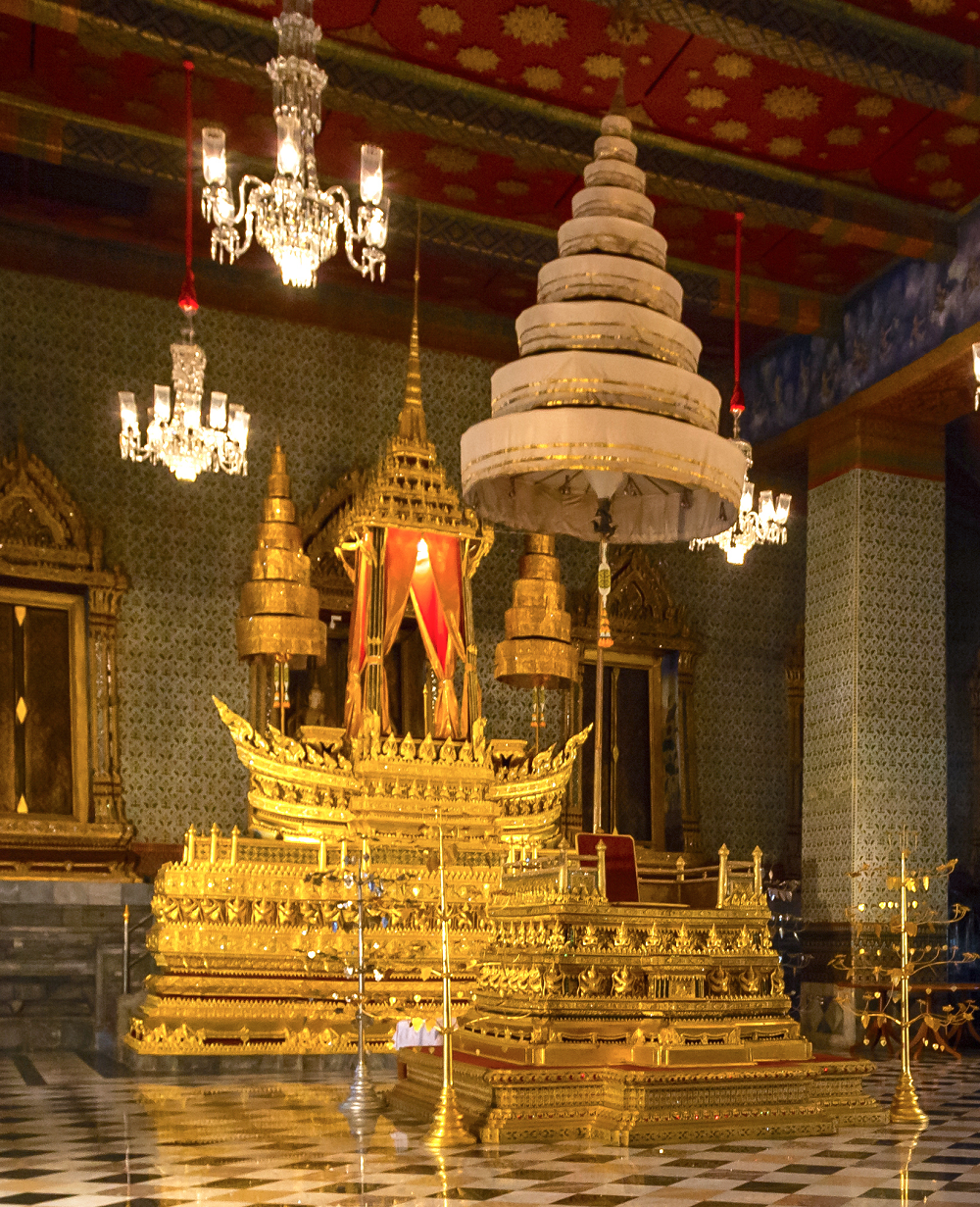 The Royal Nine-Tiered Umbrella of Thailand