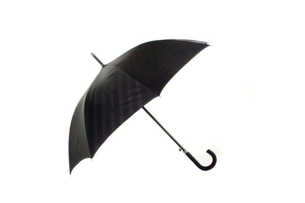 black two tone graphics promtional umbrella