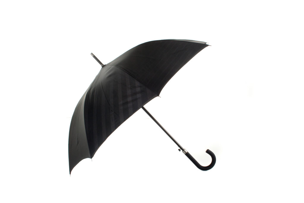 black two tone graphics promtional umbrella