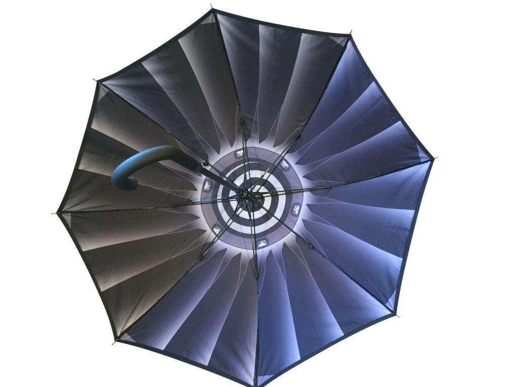 customised internal graphic print promotional umbrella