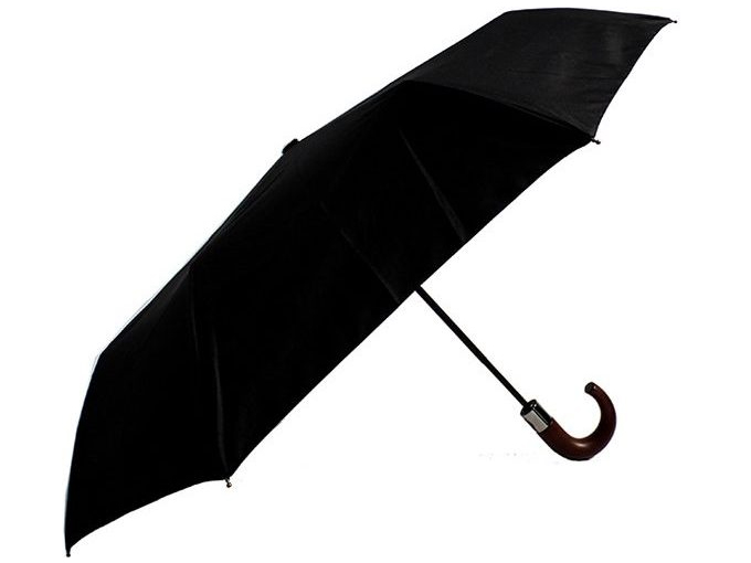 Auto Folding Executive Umbrella - Black