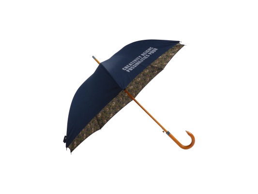 Mayfield Double canopy wood walking umbrella