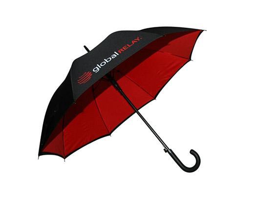 luxury branded umbrella