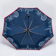 Custom folding umbrella