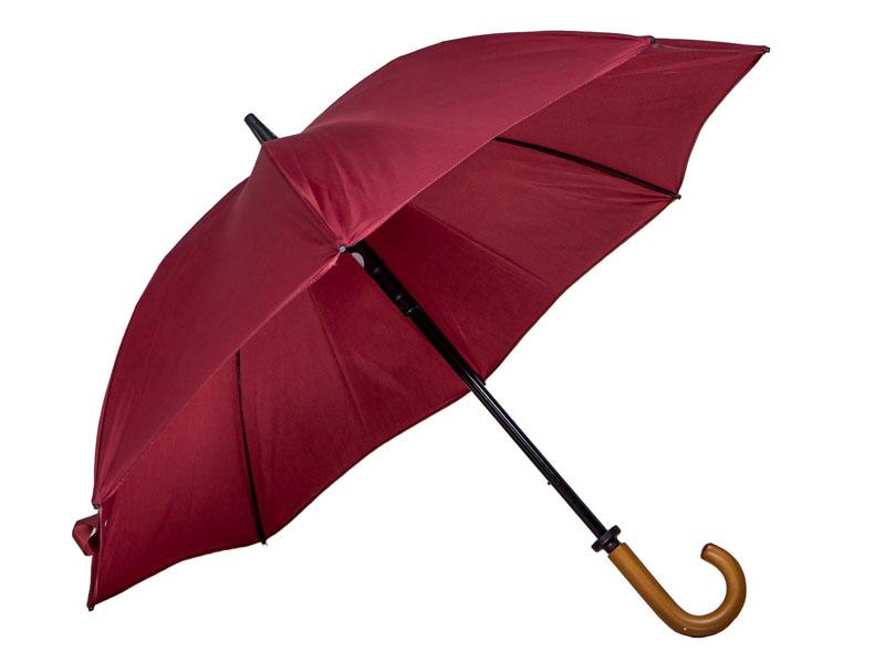 Luxury Wooden Crooked handled umbrella